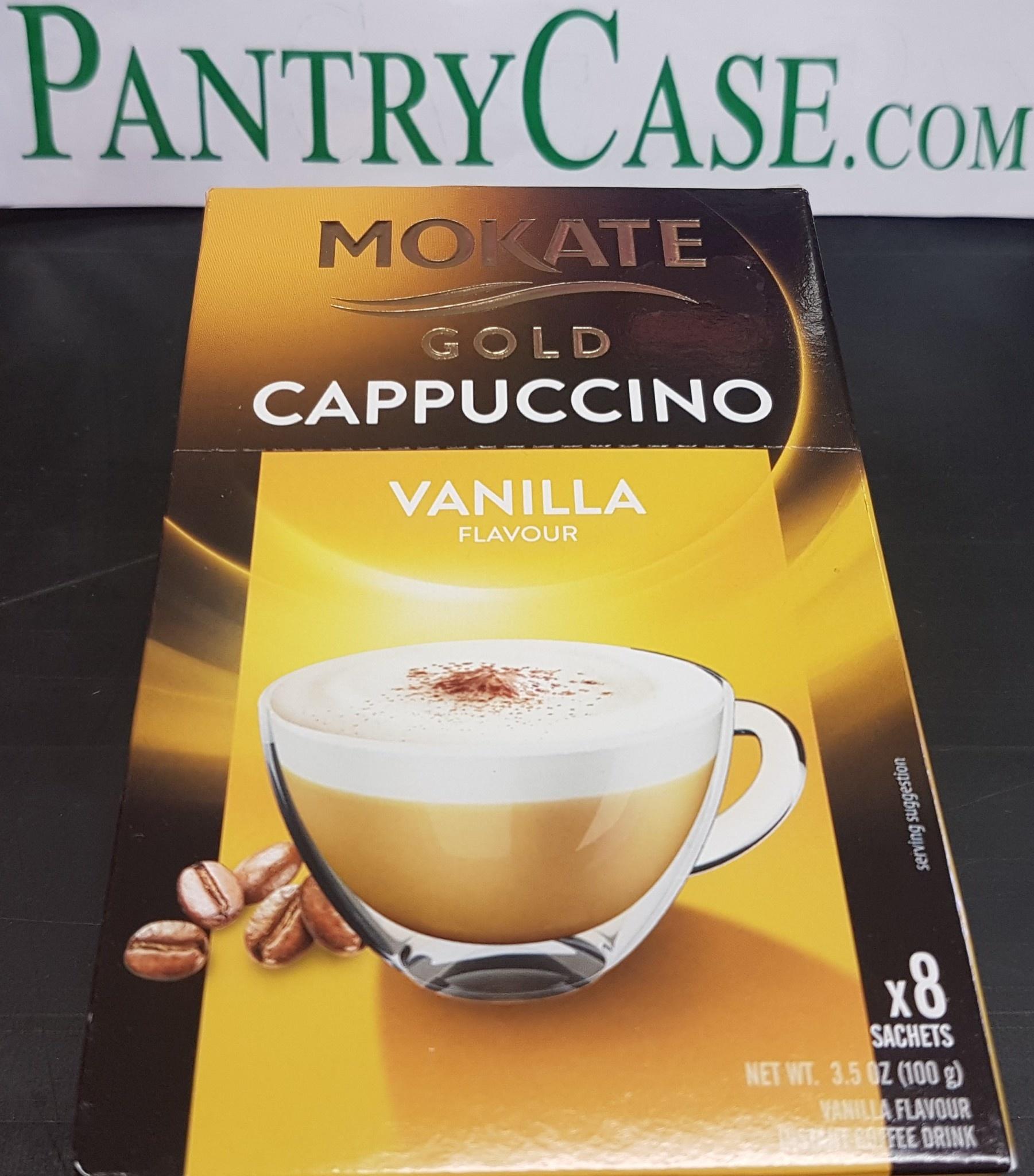Mokate Vanilla Gold Cappuccino 8pk