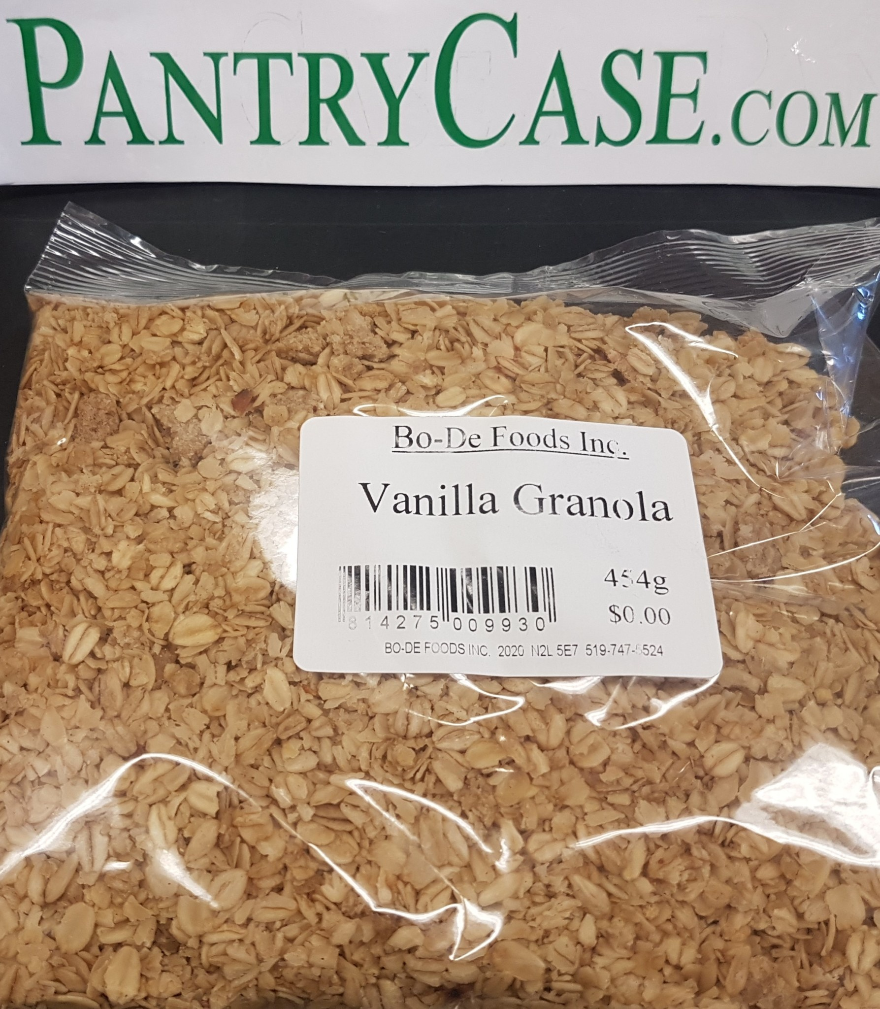 St Jacobs Country St Jacobs Vanilla Granola 454g