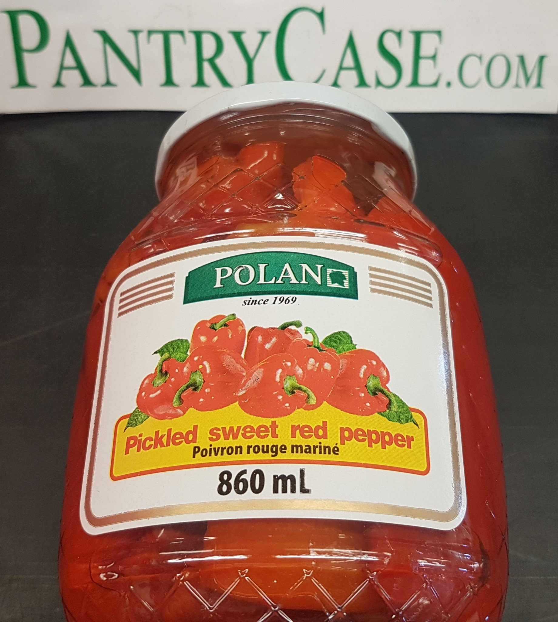 Polan Pickled Sweet Red Pepper 860ml