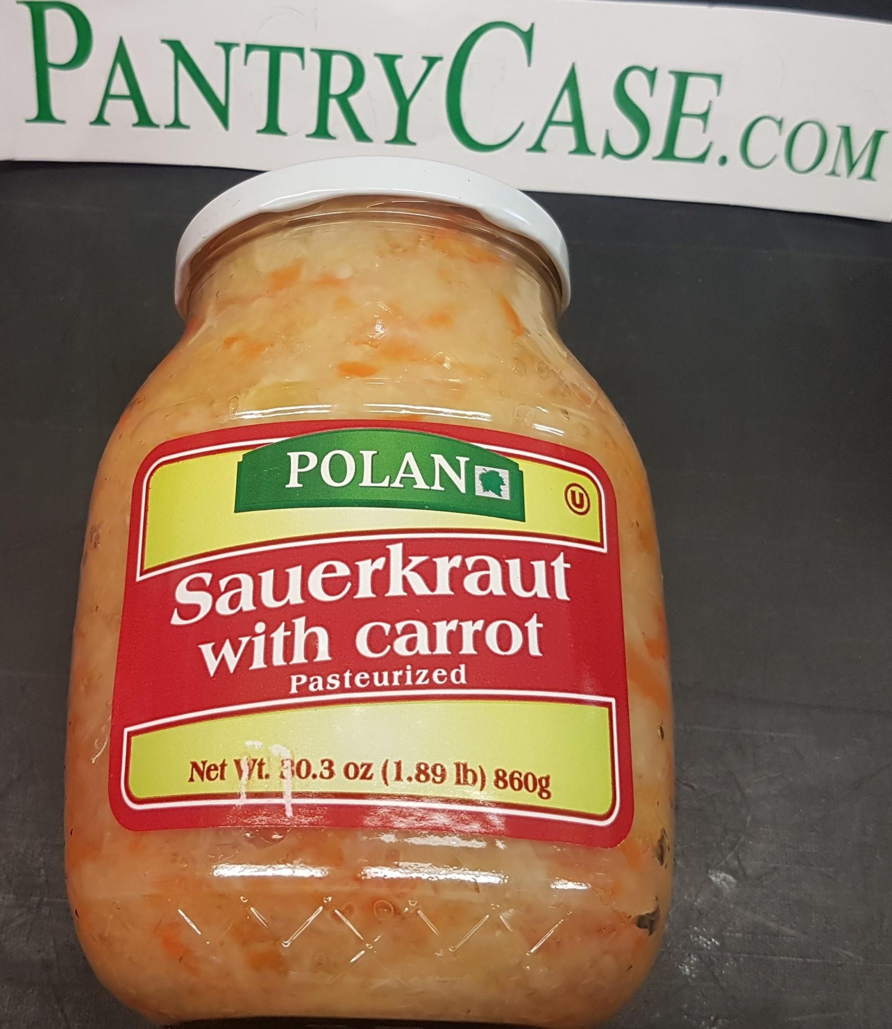 Polan Sauerkraut with Carrot 860g