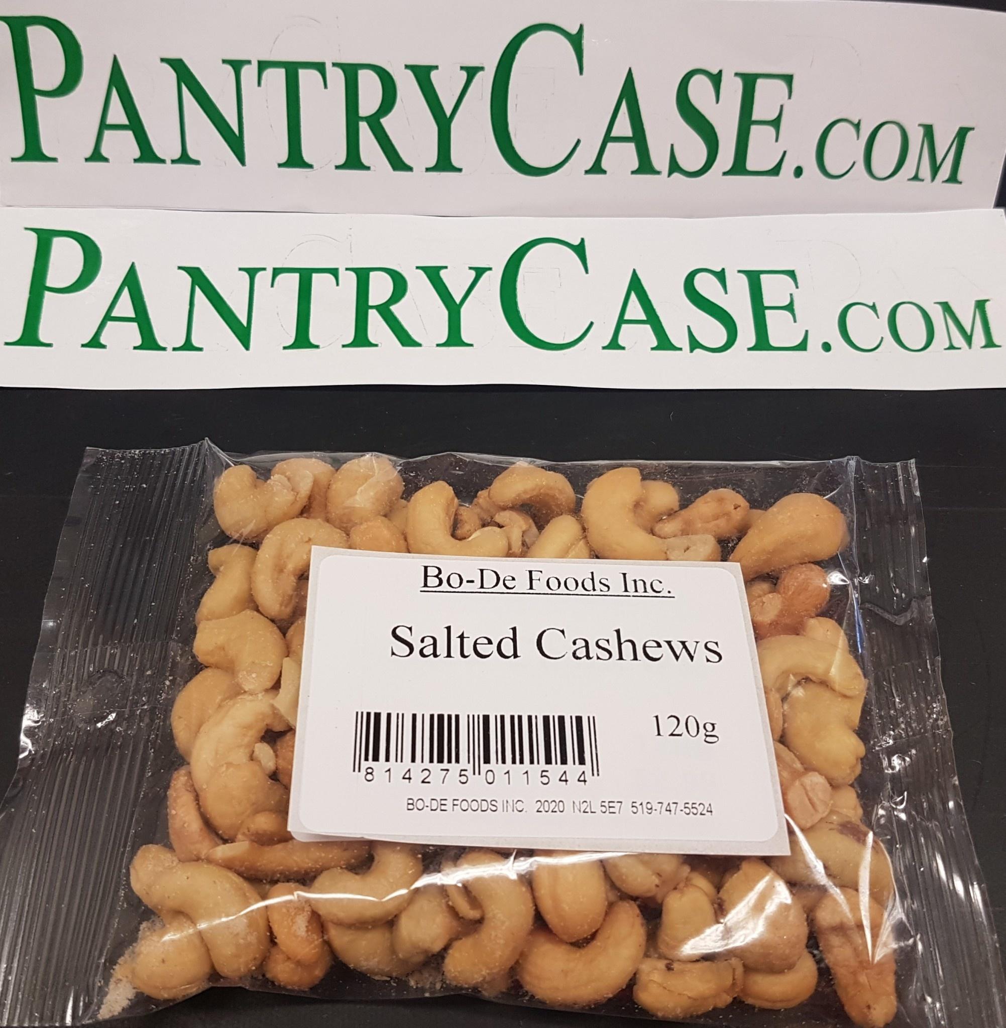 Bo-De Foods Salted Cashews 120g