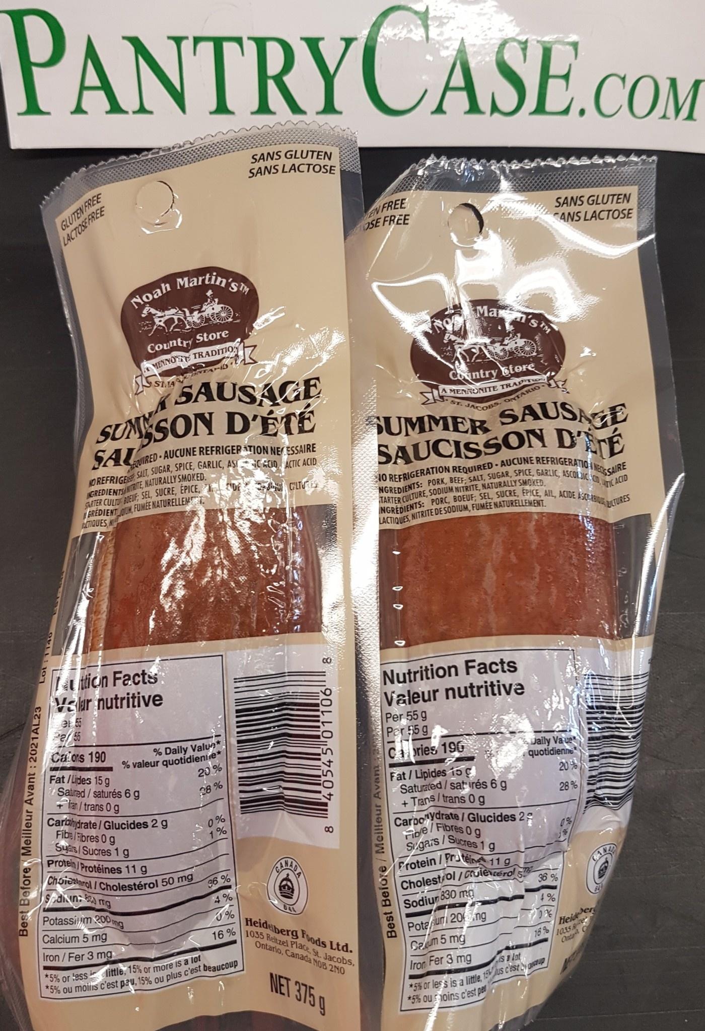 Summer Sausage 375g