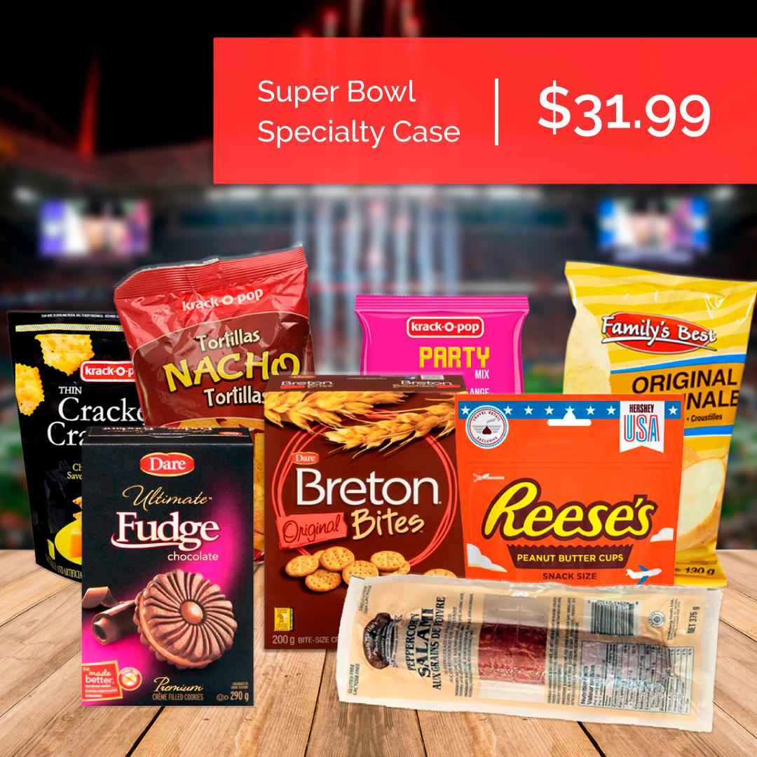 Bo-De Foods Super Bowl Specialty Case