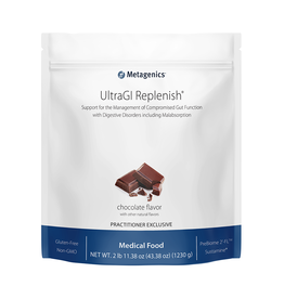 Metagenics UltraGI Replenish- Chocolate 2 lbs 11.38 oz.