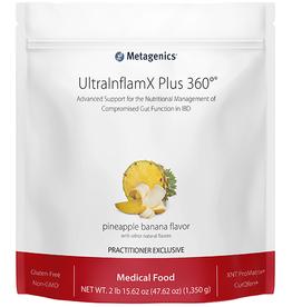 Metagenics UltraInflamX Plus 360 Pineapple/Banana 2 lbs. 13.5 oz.