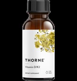 Thorne Vitamin D/K2 Liquid 1 oz.