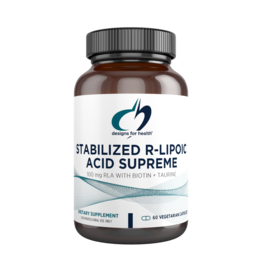 Designs for Health Stabilized R-Lipoic Acid Supreme 60 count