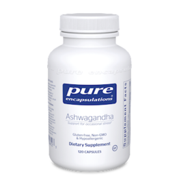 Pure Encapsulations Ashwagandha 500mg 120 count