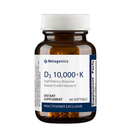 Metagenics D3 10,000 + K 60 count