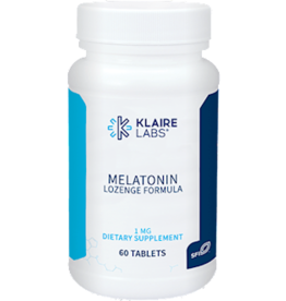 Klaire Labs Melatonin Lozenge 1mg 60 count