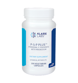 Klaire Labs P-5-P Plus with Magnesium 100 vegcap