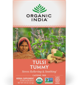 ORGANIC INDIA Tulsi Tummy Tea 18 count
