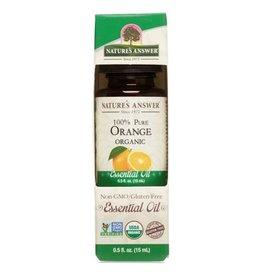NATURE'S ANSWER Organic Orange EO .5 fl. oz.