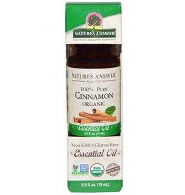 NATURE'S ANSWER Organic Cinnamon EO .5 fl. oz.