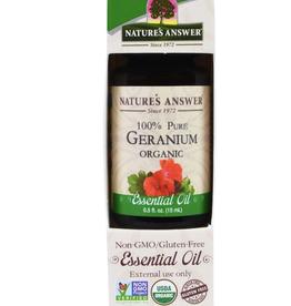NATURE'S ANSWER Organic Geranium EO .5 fl. oz.