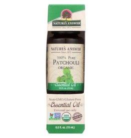 NATURE'S ANSWER Organic Patchouli .5 fl. oz.