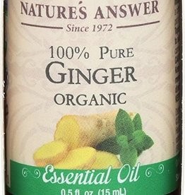 NATURE'S ANSWER Organic Essential Oil-Ginger