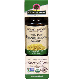 NATURE'S ANSWER Organic Frankincense EO .5 fl. oz.