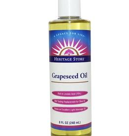 Heritage Grapeseed Oil 8 fl. oz.