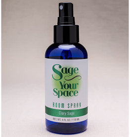 Emily Skin Soothers Sage Your Space Spray- Clary Sage 4 fl. oz.