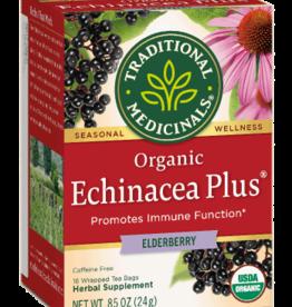 Traditional Medicinals Organic Echinacea Plus -Elderberry Tea 16 count
