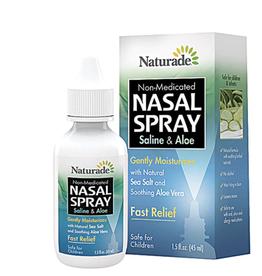 NATURADE Saline and Aloe Nasal Spray 1.5 fl. oz.