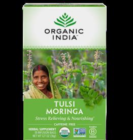 ORGANIC INDIA Tulsi Tea Moringa 18 count
