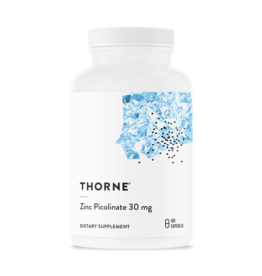 Thorne Zinc Picolinate 30mg 60 count