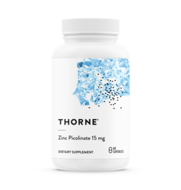Thorne Zinc Picolinate 15mg 60 count