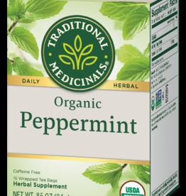 Traditional Medicinals Organic Peppermint Tea 16 count