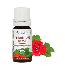 Amrita Aromatherapy Geranium Rose EO