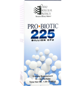 Ortho Molecular Products Probiotic 225 15 packets