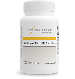 Integrative Therapeutics Activated Charcoal 100 count