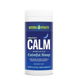 Natural Vitality Calm Calmful Sleep Mixed Berry 6 oz.