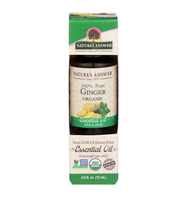 NATURE'S ANSWER Organic Ginger EO .5 fl. oz.