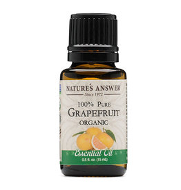 NATURE'S ANSWER Organic Grapefruit EO .5 fl. oz.