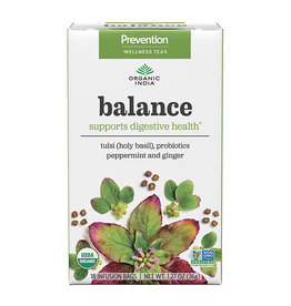 ORGANIC INDIA Balance Tea for Digestive Health 18 count