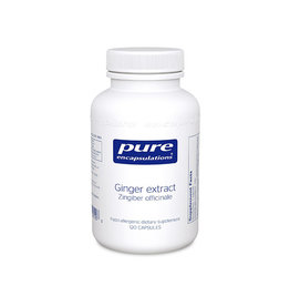 Pure Encapsulations Ginger Extract 120c PURE