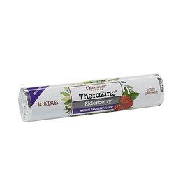 Quantum Health TheraZinc Elderberry Lozenges, 14 count