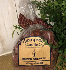 Thompson's Candle Co Scented Crumbles-Gingerbread