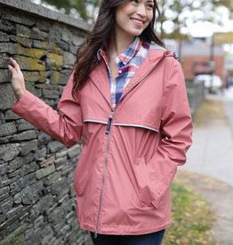 Charles River Apparel Women's New Englander Rain Jacket (Multiple Colors)