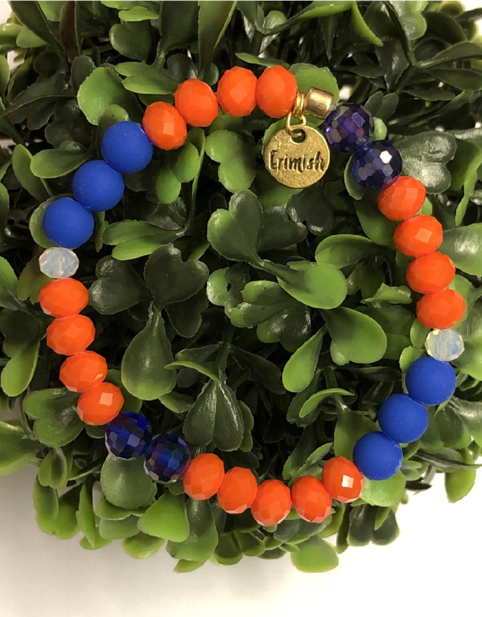 Erimish Drew Orange and Blue Erimish Bracelet