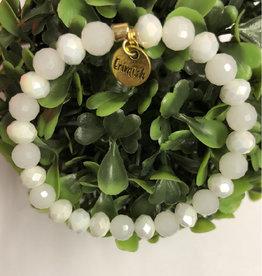 Erimish Snuggle White Erimish Bracelet