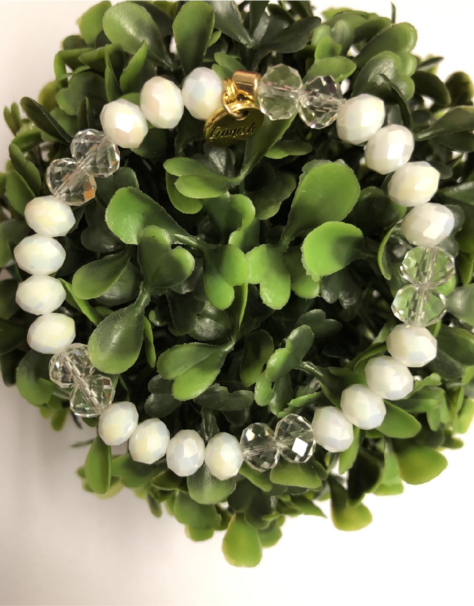 Erimish Frosty White Erimish Bracelet