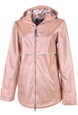 Charles River Apparel Charles River Women's New Englander Rain Jacket with Print Lining
