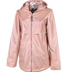 Charles River Apparel New Englander Rain Jacket with Print Lining (Multiple Colors)