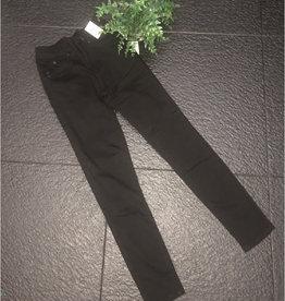 YMI Luxe Lift Denim Ankle Jeans - Black