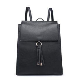 SASS Boutique Exclusive Black Backpack