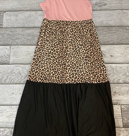 SASS Boutique Exclusive Rose Animal Print Dress