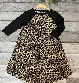 SASS Boutique Exclusive Animal Print Dress